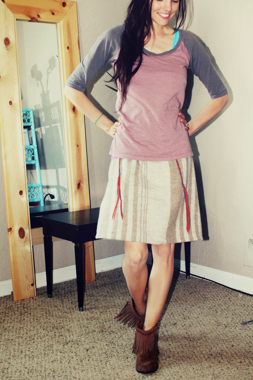 How I make and wear Tzitzits with Skirts – Anna's Hyssop